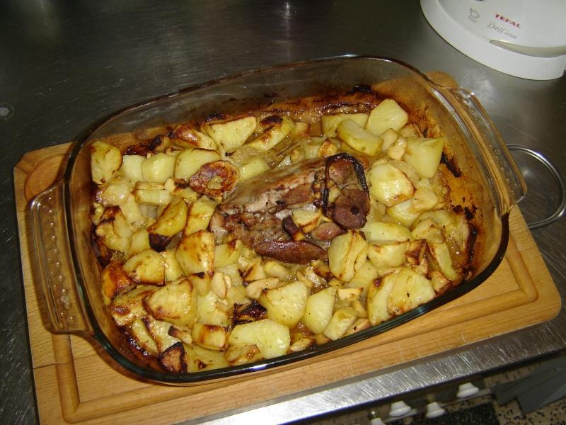 Filet de porc aux deux pommes Dsc01113