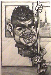 CARICATURES de personnalitées - Page 4 Djamel10