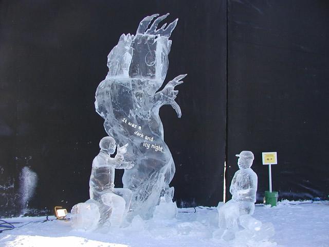Sculpture de glace Sculpt11