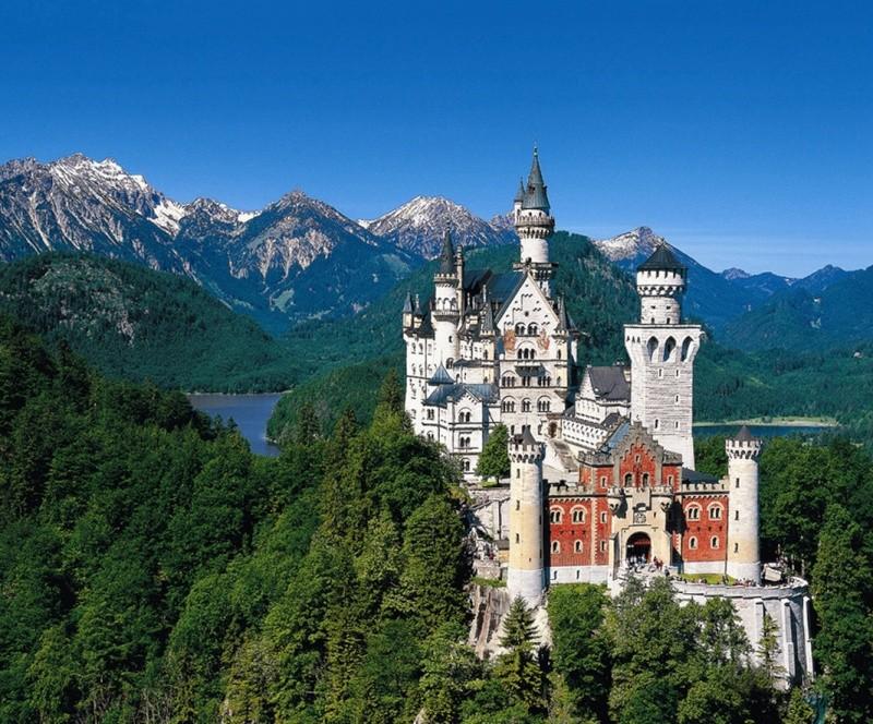 Les châteaux en Allemagne Neusch10