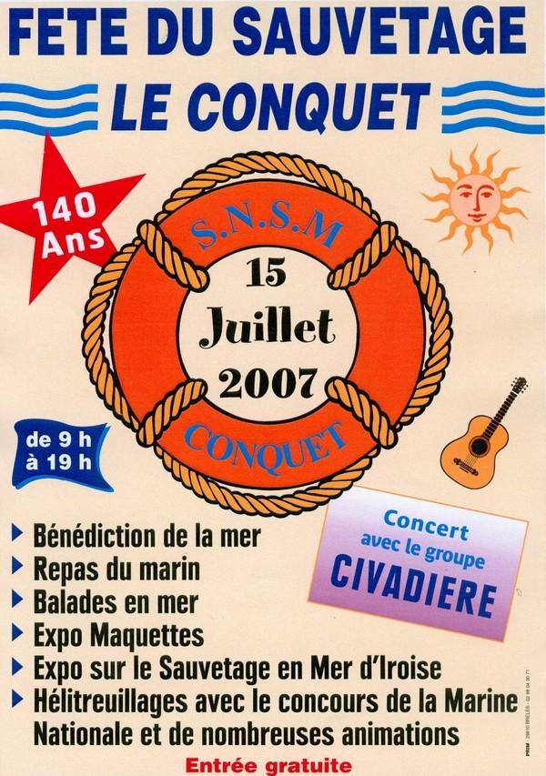 [ La S.N.S.M. ] SNSM Le Conquet 20070610