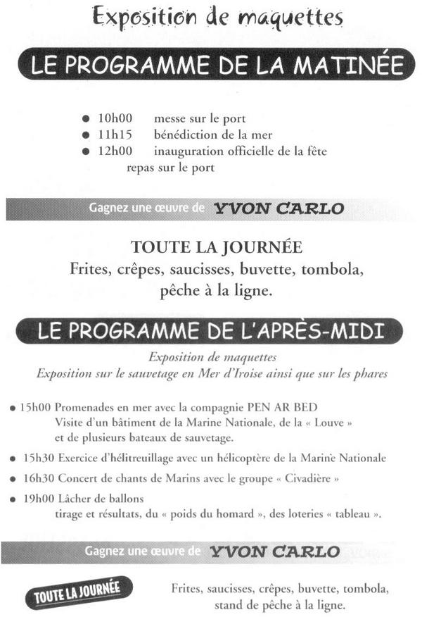 [ La S.N.S.M. ] SNSM Le Conquet 20070611