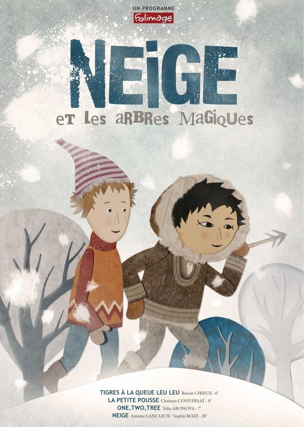 NEIGE ET LES ARBRES MAGIQUES - Folimage - 25 novembre 2015 Affich10