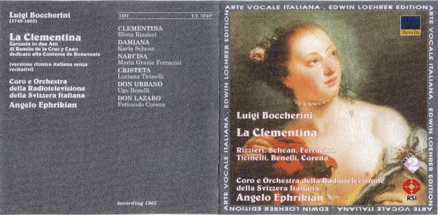 Luigi BOCCHERINI (1743 1805) Cover35