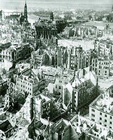 Le bombardement de Dresde. Dresde10
