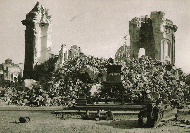 Le bombardement de Dresde. Dresde12