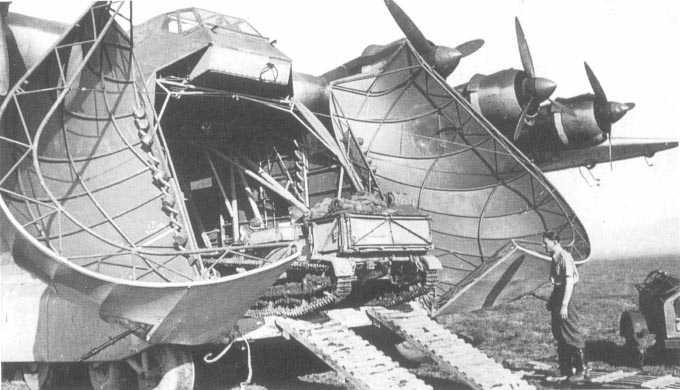Planeurs géants allemands - Ju-322, Me-321 & 323 Me323-10