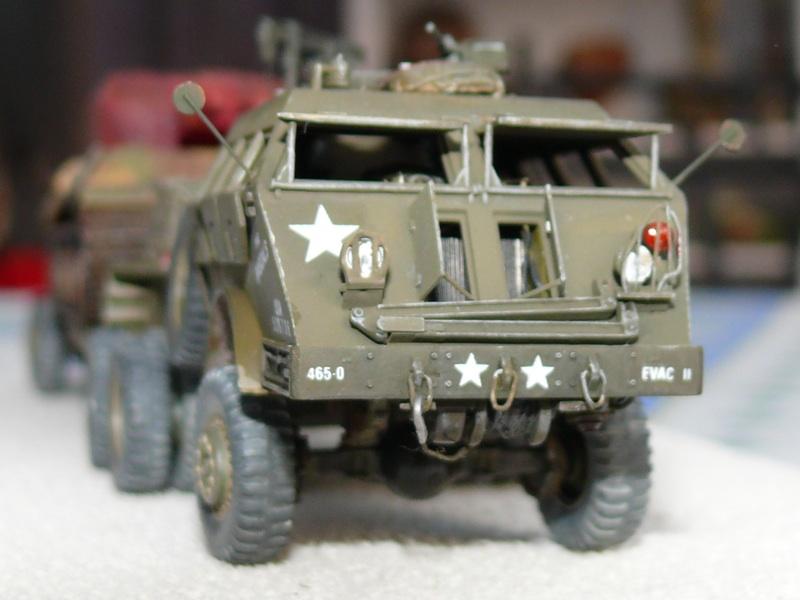 Diorama pour un Pacific M26 Dragon Wagon - Academy - 1/72 Avant210