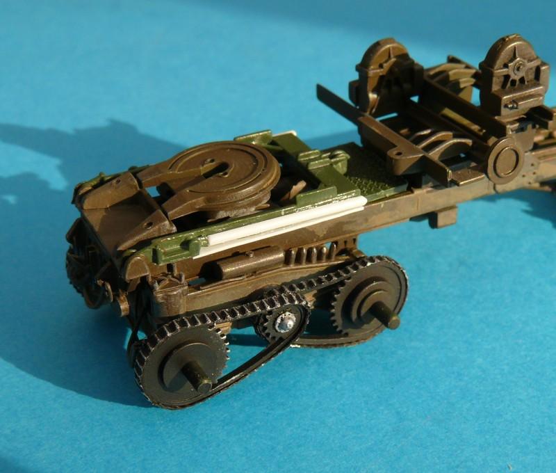 Diorama pour un Pacific M26 Dragon Wagon - Academy - 1/72 Chaine10
