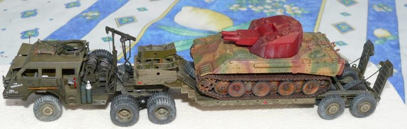 Diorama pour un Pacific M26 Dragon Wagon - Academy - 1/72 Ensemb10