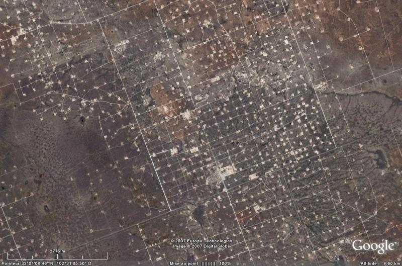 Puits de pétrole à Odessa, Texas - USA Puits_10