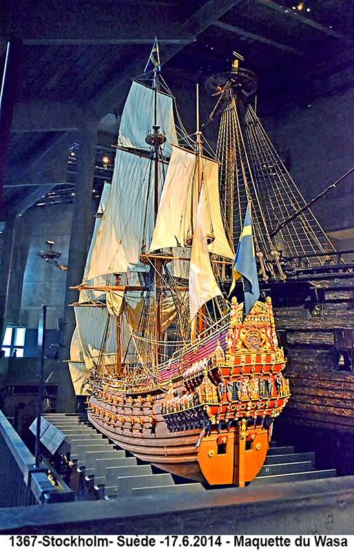 [ Marine à voile ]  le Wasa 1367-s10