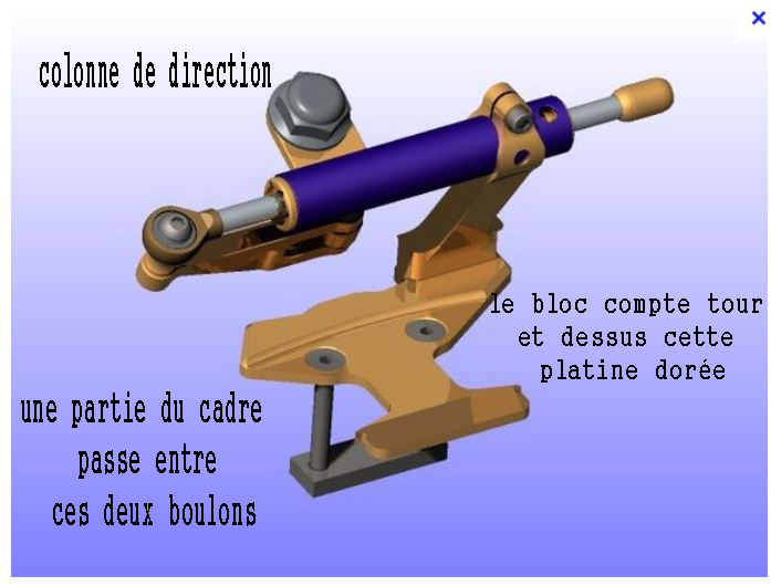 amortisseur de direction / guidonnage Captur12