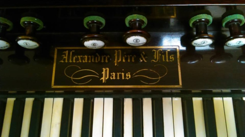 Orgue à percussion Alexandre à Saint-Martin de Hayange Alexan11