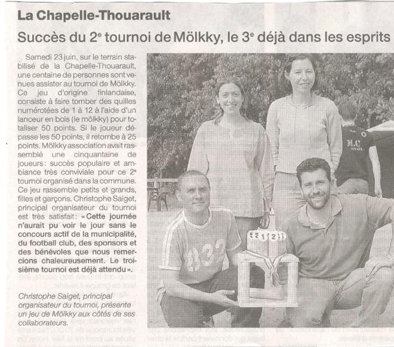 2 ème tournoi à la chapelle Thouarault (23 juin) Molkky10
