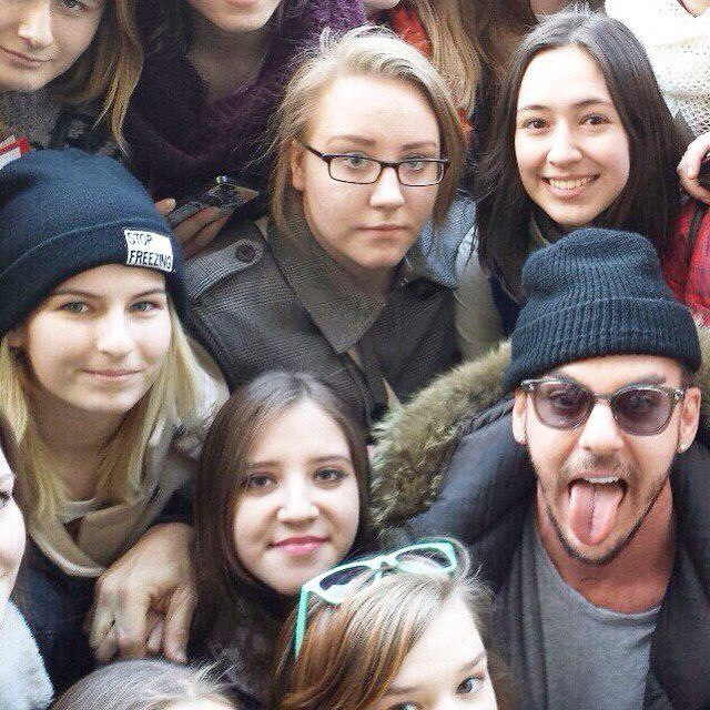 Jared Shannon & Tomo - Candids regroupés @Russie Mars 2015  Tumblr52