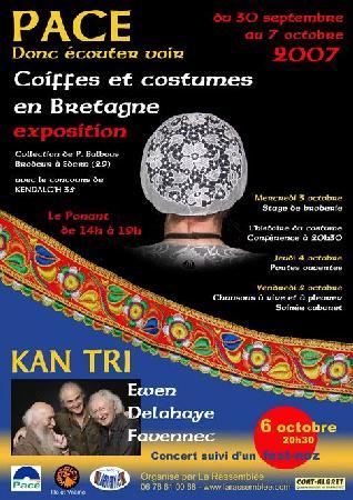 exposition coiffes et costumes à Pacé Affich10