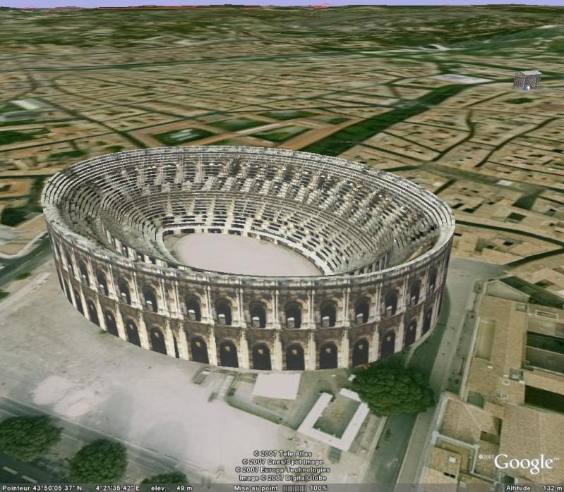 Bâtiments 3D avec textures - France [Sketchup] Arene_10