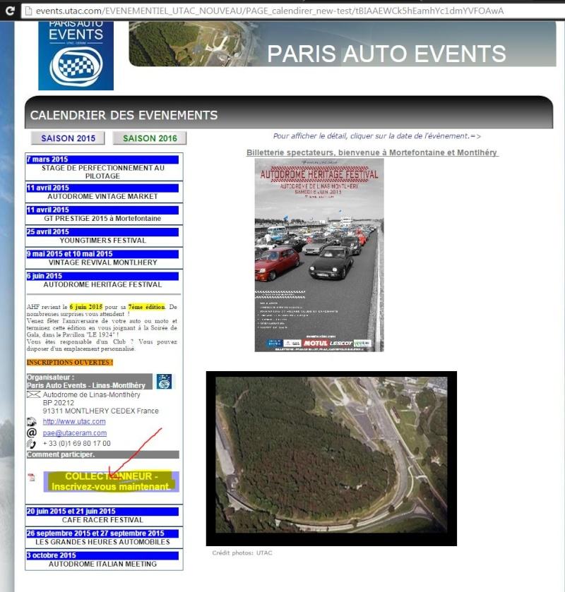 INSCRIPTION 45 ans GS et SM circuit Montlhéry 6 juin 2015  Captur38