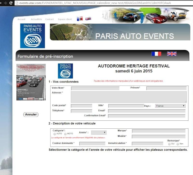 INSCRIPTION 45 ans GS et SM circuit Montlhéry 6 juin 2015  Captur40