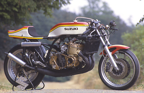 SUZIKI TR 750.....the kettle 'HOT' Tr75010