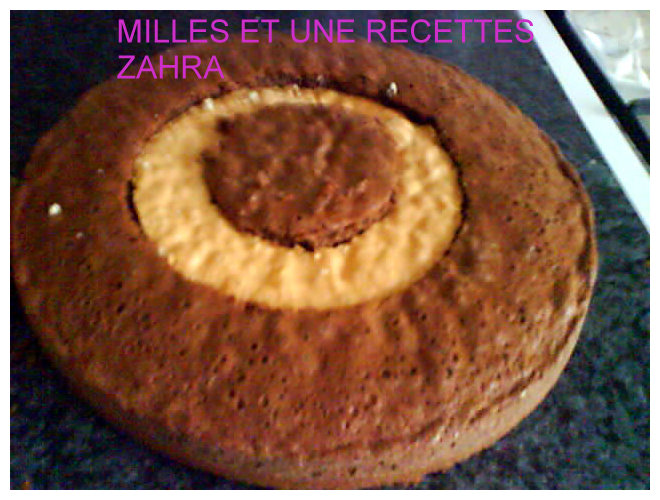 mon gateau damier+photo Hhhhhh10