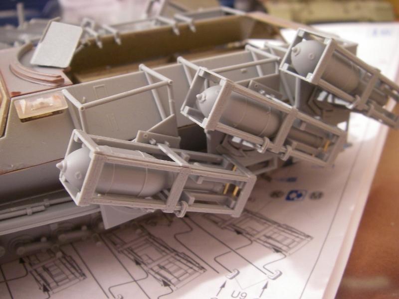 Sdkfz 251 Stuka Zu fuss Dragon 1/35 Imgp2311