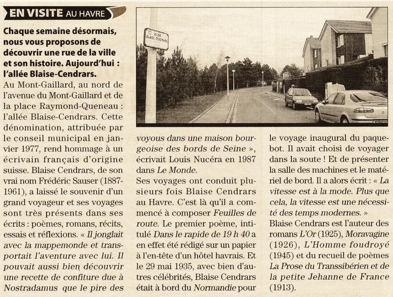 Le Havre - Allée Blaise Cendrars 2011-010