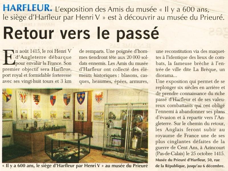 Le siège d'Harfleur par Henri V en 1415 2015-028