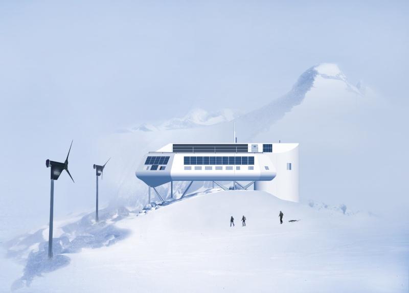 Marambio, Base polaire, Antarctique, Argentine Artist10