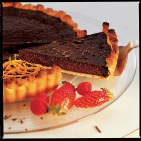 Tarte au chocolat Recett11