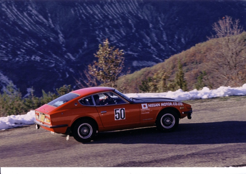 Monte Carlo 1973 repportage au coeur de l'assistance DATSUN 240_ra10