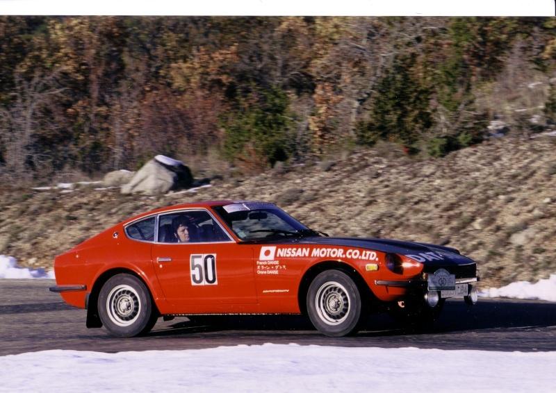 Monte Carlo 1973 repportage au coeur de l'assistance DATSUN 240_ra12
