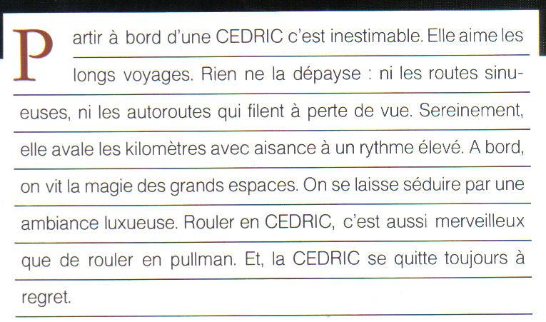 Topic Officiel DATSUN CEDRIC toutes générations! - Page 2 Cedric17