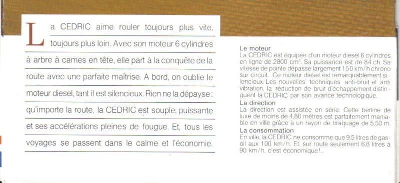 Topic Officiel DATSUN CEDRIC toutes générations! - Page 2 Cedric20