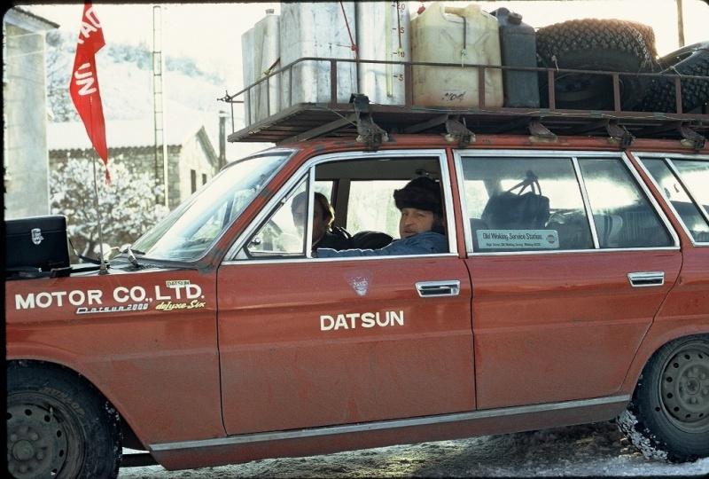 Monte Carlo 1973 repportage au coeur de l'assistance DATSUN Tn_1110