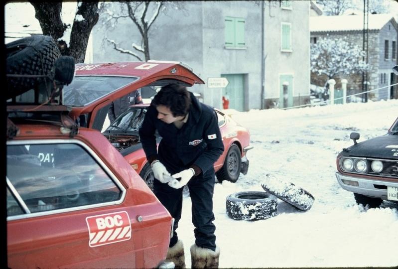 Monte Carlo 1973 repportage au coeur de l'assistance DATSUN Tn_1210