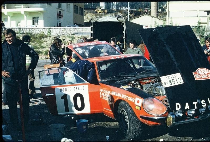 Monte Carlo 1973 repportage au coeur de l'assistance DATSUN Tn_210
