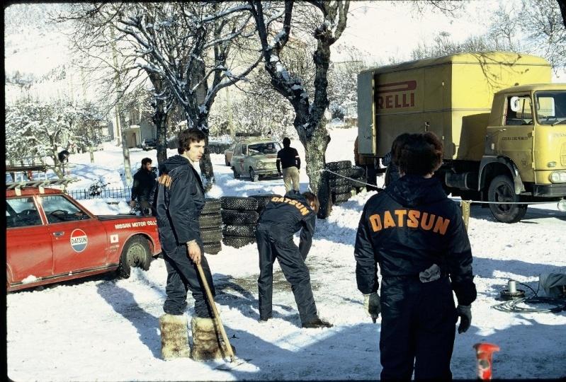 Monte Carlo 1973 repportage au coeur de l'assistance DATSUN Tn_310