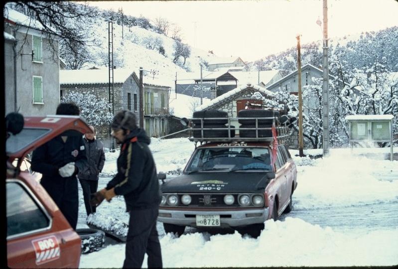 Monte Carlo 1973 repportage au coeur de l'assistance DATSUN Tn_510