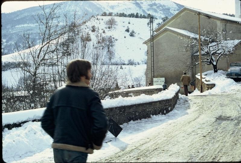 Monte Carlo 1973 repportage au coeur de l'assistance DATSUN Tn_810