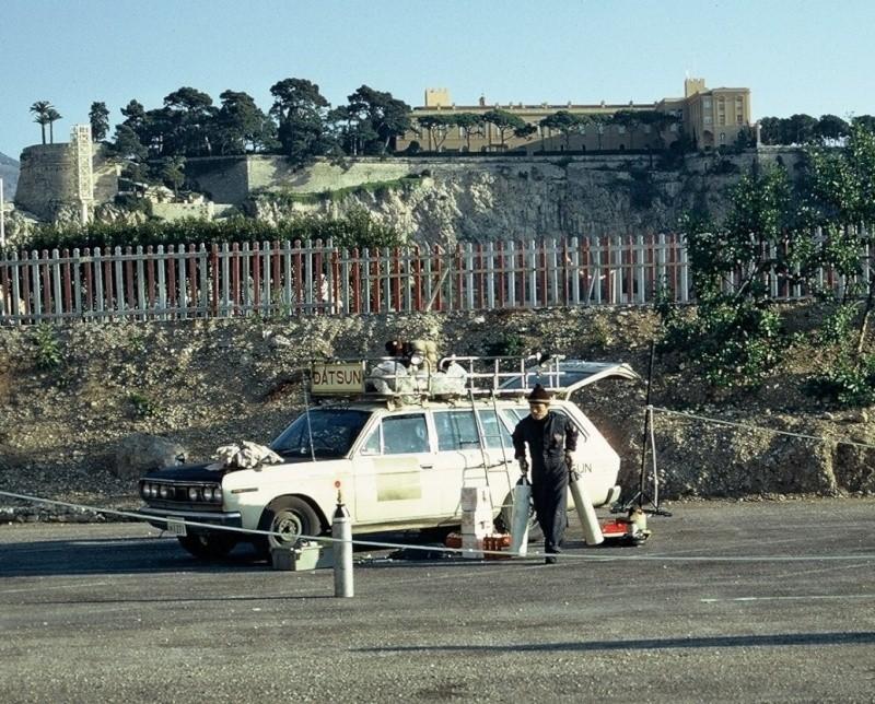 Monte Carlo 1973 repportage au coeur de l'assistance DATSUN Tn_910