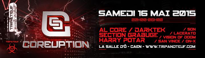 [ COREUPTION - Samedi 16 Mai 2015 - La Salle d'Ô - Caen ] Banner10