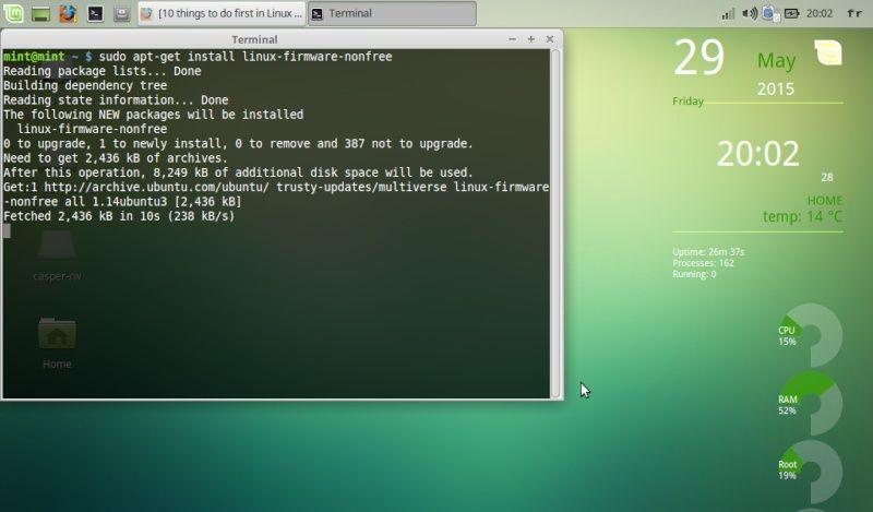 Question : la meilleure distro linux pour un eeepc ? Screen10