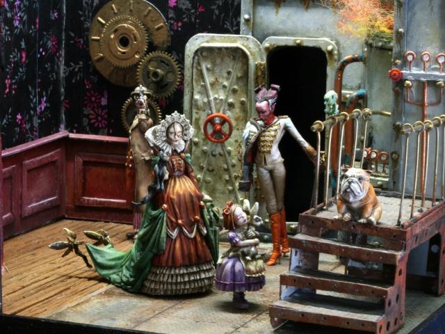 Steampunk ou Fantaisie Victorienne , la fin......ou, presque la fin !!!! - Page 4 Img_1116