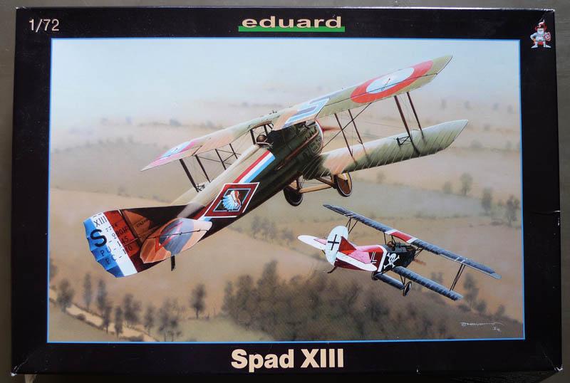 """Concours 1ere Guerre Mondiale [Eduard] - SPAD XIII de """"l'As Abbé"""". Spad_x12"""