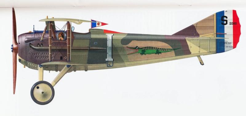 """Concours 1ere Guerre Mondiale [Eduard] - SPAD XIII de """"l'As Abbé"""". Spad_x14"""
