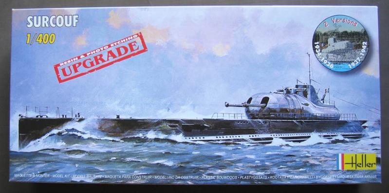 Croiseur sous-marin SURCOUF 1/400ème Réf 81014 Surcou10