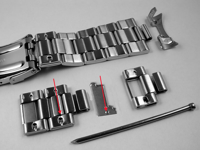 Qualité des bracelets metal sur Amphibian Seikob10