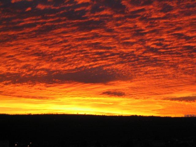 Lever ou coucher de soleil Pma02610